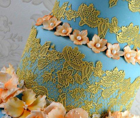 Claire Bowman 3D Cake Lace Mat - Eternity