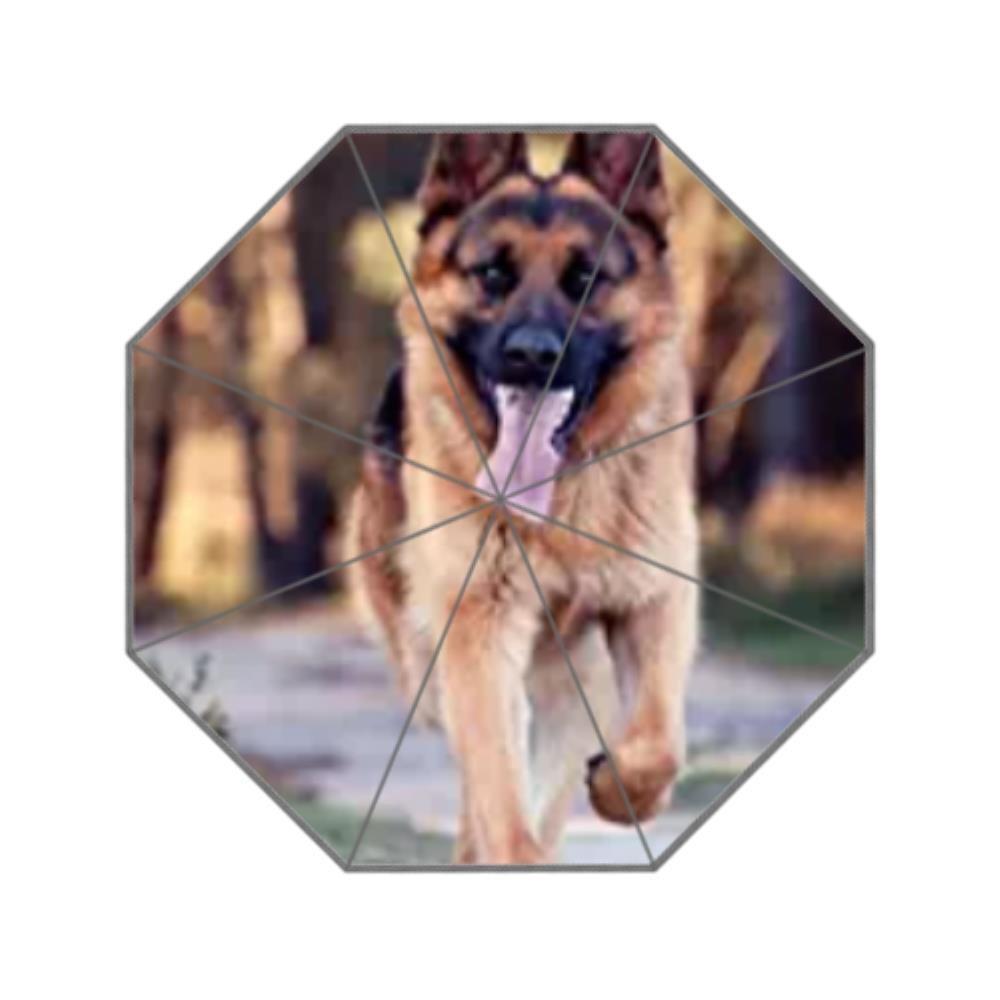 キュートペットジャーマンシェパード犬カスタム傘uv-resistantメンズandレディースUmbrellasカスタムby Bernieグレシャム   B078RN447D