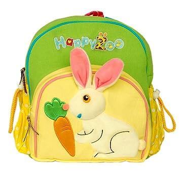 Conejo Gracioso] Mochila para niños con bordados y apliques ...