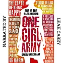 One Girl Army Audiobook by Daniel Marc Chant Narrated by Leah Casey