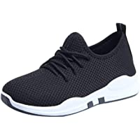 Shunsuen_Shoes Women's Clearance Lightweight Sneakers Fashion Athletic Running Walking Shoes Breathable Lace Up Shoe