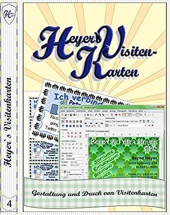 Heyers Visitenkarten Amazon De Software