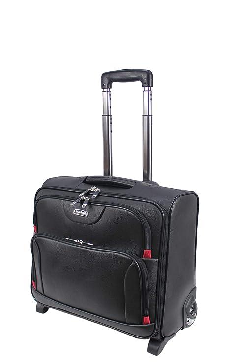 Maletín con ruedas, perfecto para llevar el portátil o la cartera, para oficina o