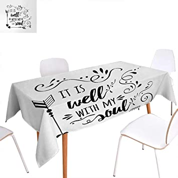 Amazon Com Warm Family It Is Well With My Soul Dinner Picnic Table