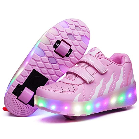 Schuhe Mädchen Mit Junge Led Recollect Rollen KJcl13TF