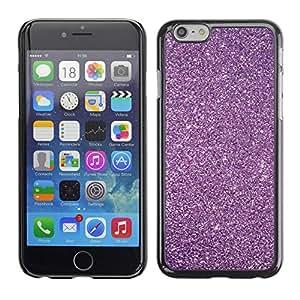 Caucho caso de Shell duro de la cubierta de accesorios de protección BY RAYDREAMMM - Apple iPhone 6 - Glitter Snow Sky Stars Universe