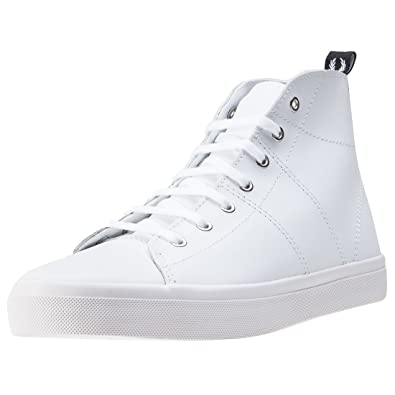 Fred Perry Ellesmere Mid Damen Stiefel White White 8 UK