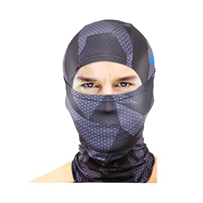 9FX BX1 Outdoor Sports Cycling UV Protection 3D Cool Balaclava,Comb Blue Set of 2