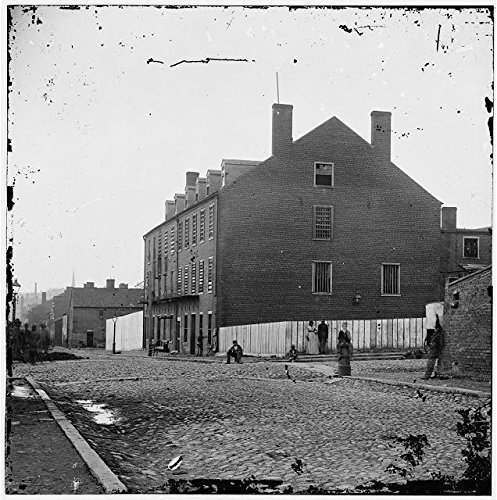Party Supplies Richmond Va (Photo: American Civil War, Richmond, Virginia, VA, Castle Thunder, Tobacco Warehouse . Size: 8x10 (a)