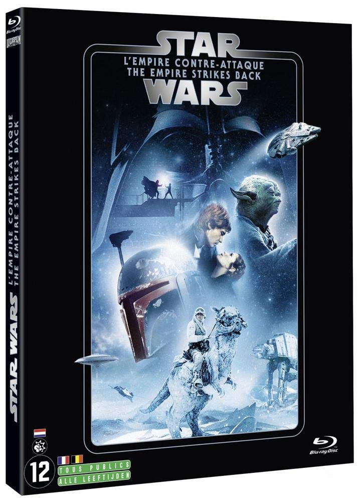 Star Wars - Episode V : LEmpire contre-attaque Francia Blu-ray: Amazon.es: Mark Hamill, Harrison Ford, Carrie Fisher, Billy Dee Williams, Anthony Daniels, David Prowse, Peter Mayhew, Kenny Baker, Frank Oz, Alec Guinness,