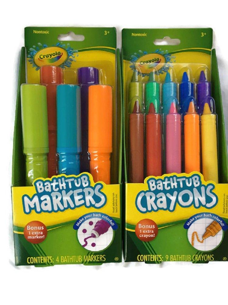 Amazon Com Crayola Bathtub Finger Paint Soap 5 Pack Beauty