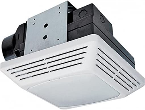 Air King Bfql70 High Performance Exhaust Fan With Light Combo, 6 Watts, 120 Volts