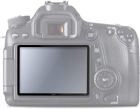 CELLONIC® Cristal auténtico (Grado de dureza: 9H) para Canon EOS ...