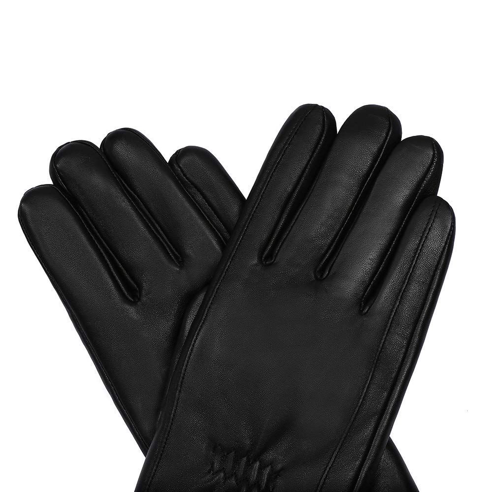 Mens Winter Touchscreen Genuine Leather Gloves Acdyion Thinsulate Warm Outdoor Windproof Driving Classic Gloves