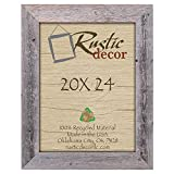 Cheap 20×24 – 3.5″ Extra Wide Reclaimed Rustic Barnwood Wall Frame