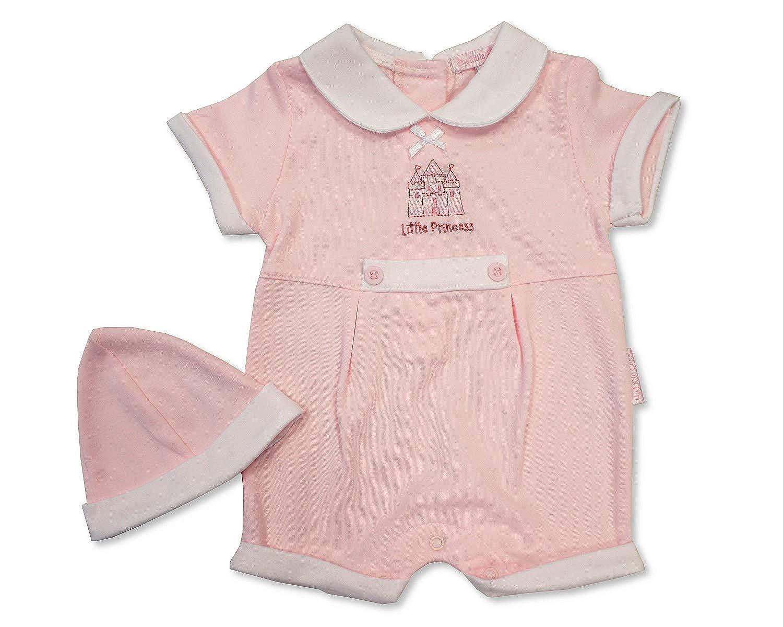 Tiny Baby Premature Girls Romper Pink Princess 3-5 lbs 503
