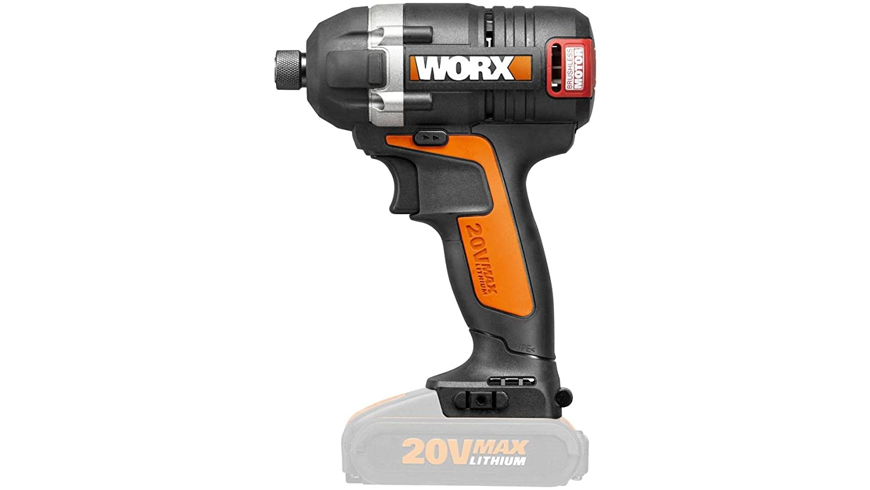 WORX WX292.9 - Atornillador de Impacto Brushless 20V S/bat