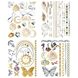 Are You Ready To Shimmer & Shine?!With 8 different colors, these metallic temporary tattoos are versatile & Ultra Reflective with a metallic shimmer that makes you stand out!In fact...We GUARANTEE these original & Custom Sexy Tattoo Designs will make...
