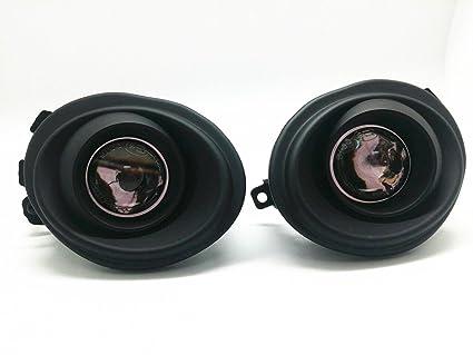 2) Negro Repuesto proyectores antiniebla luces Emark para BMW E46 ...