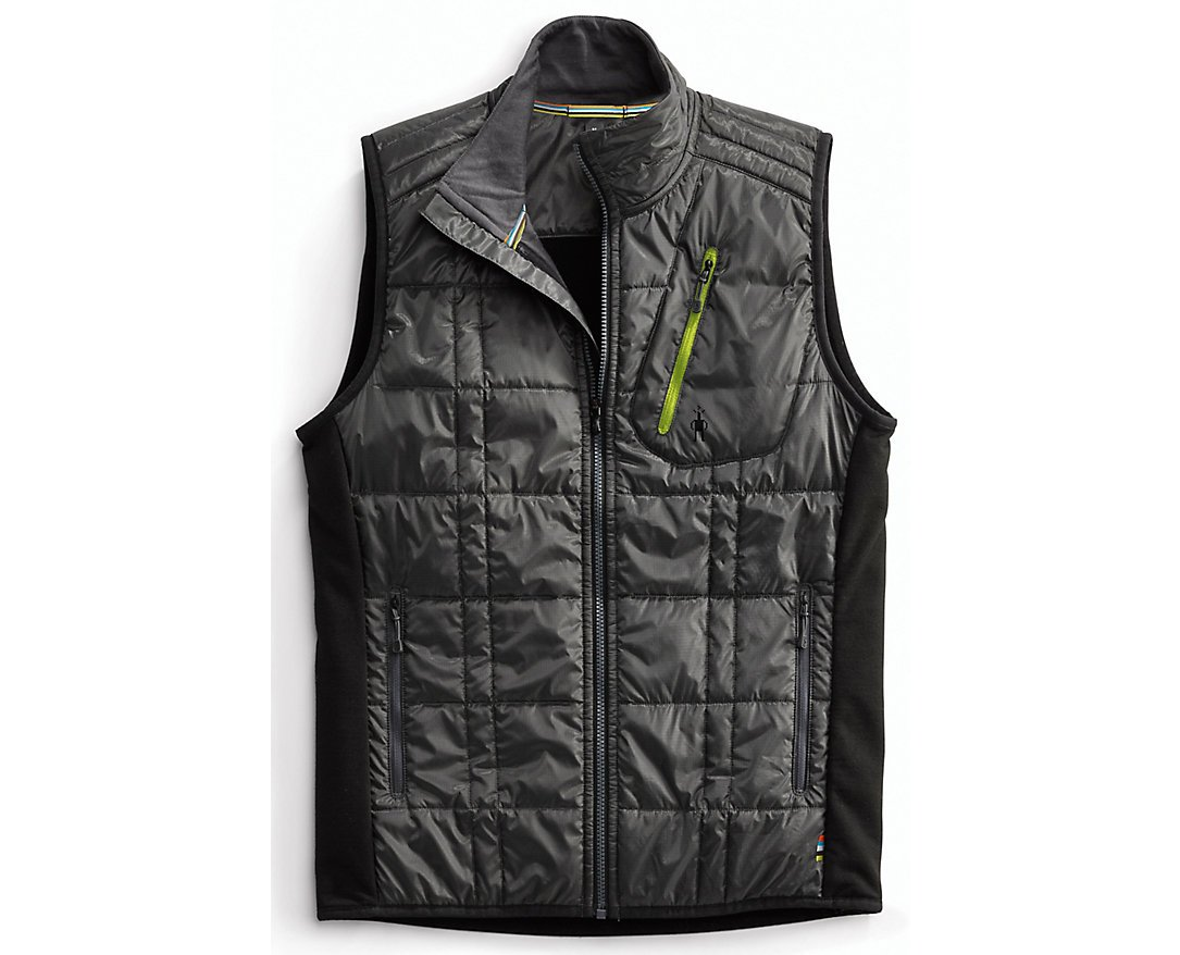SmartWool Men's Corbet 120 Vest (Graphite/Black) Small