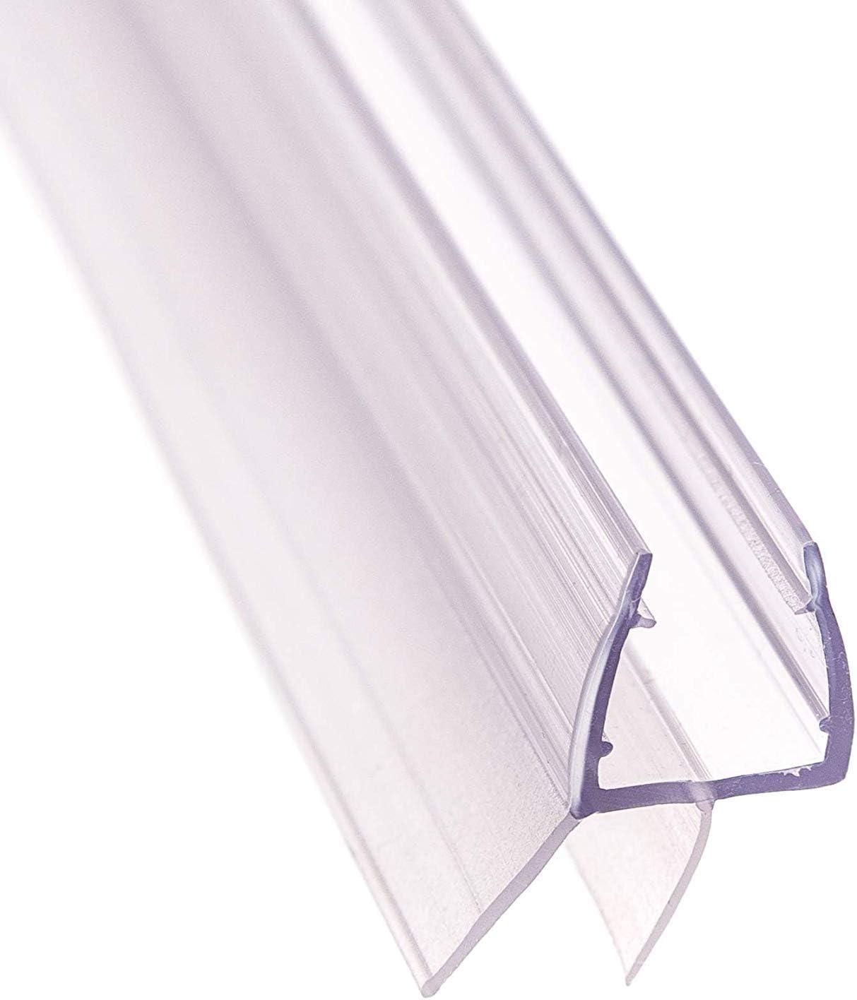 Brecha 13,4mm UK03 FURNICA 90cm Repuesto ba/ño Ducha Protector de Puerta Sello para 6//7-8mm Vidrio Espesor