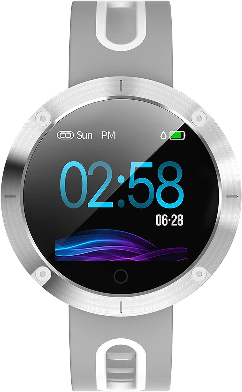 Men Women Fitness Smart Watch Multifunction IP68 Waterproof Heart Rate Monitor Step Counter Bracelet