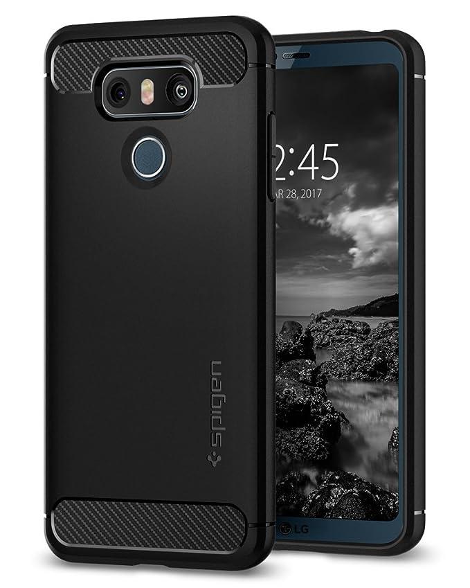 Spigen Rugged Armor Designed for LG G6 Case / G6 Plus Case (2017) - Black
