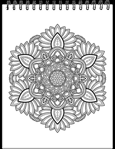 Mandalas II Adult Coloring Book