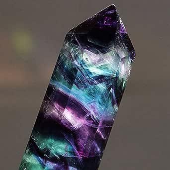 Amazon.com: Yliquor Natural Hexagonal Crystal Quartz ...