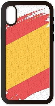 PHONECASES3D Funda móvil Compatible con iPhone XR España Bandera. Carcasa de TPU de Alta protección. Funda Antideslizante, Anti choques y caídas.: Amazon.es: Electrónica