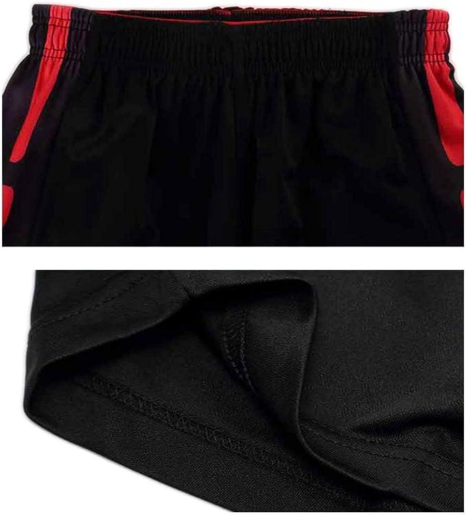 WX Pantalones Cortos de Baloncesto para Hombre Pantalones Cortos Sueltos de Gran tama/ño Pantalones Cortos Deportivos de Fitness
