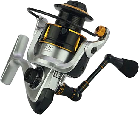 Casting Fuerte de Aleación Cuerpo Carrete de Pesca Spinning ...