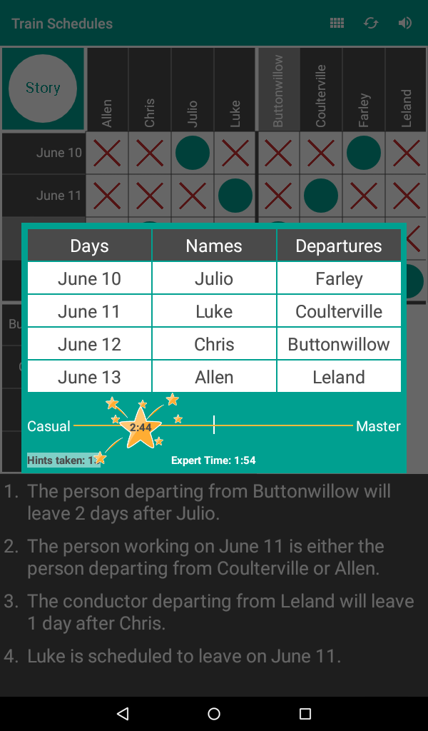 Quick Logic Puzzles - Free Daily Puzzle! - Import It All