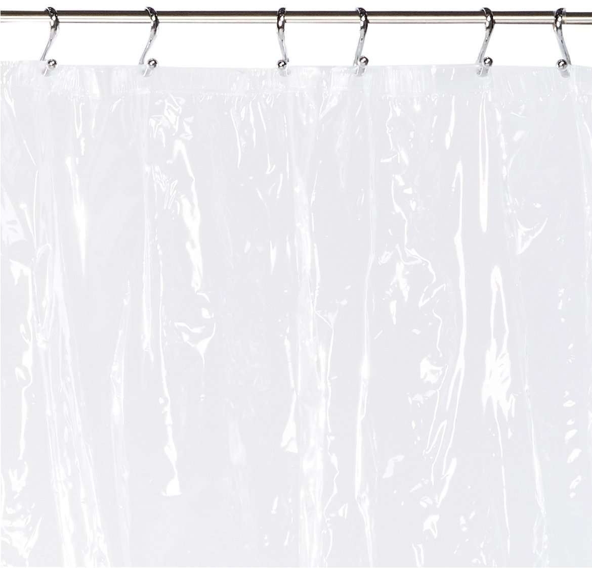 Amazon Carnation Home Fashions 72 By 84 Inch Waterproof Vinyl Shower Curtain Liner X Large Super Clear Kitchen