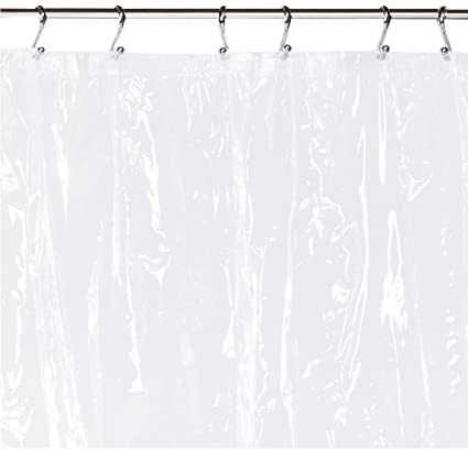 Merveilleux Carnation Home Fashions 72 Inch Wide By 84 Inch Long Vinyl Shower Curtain  Liner