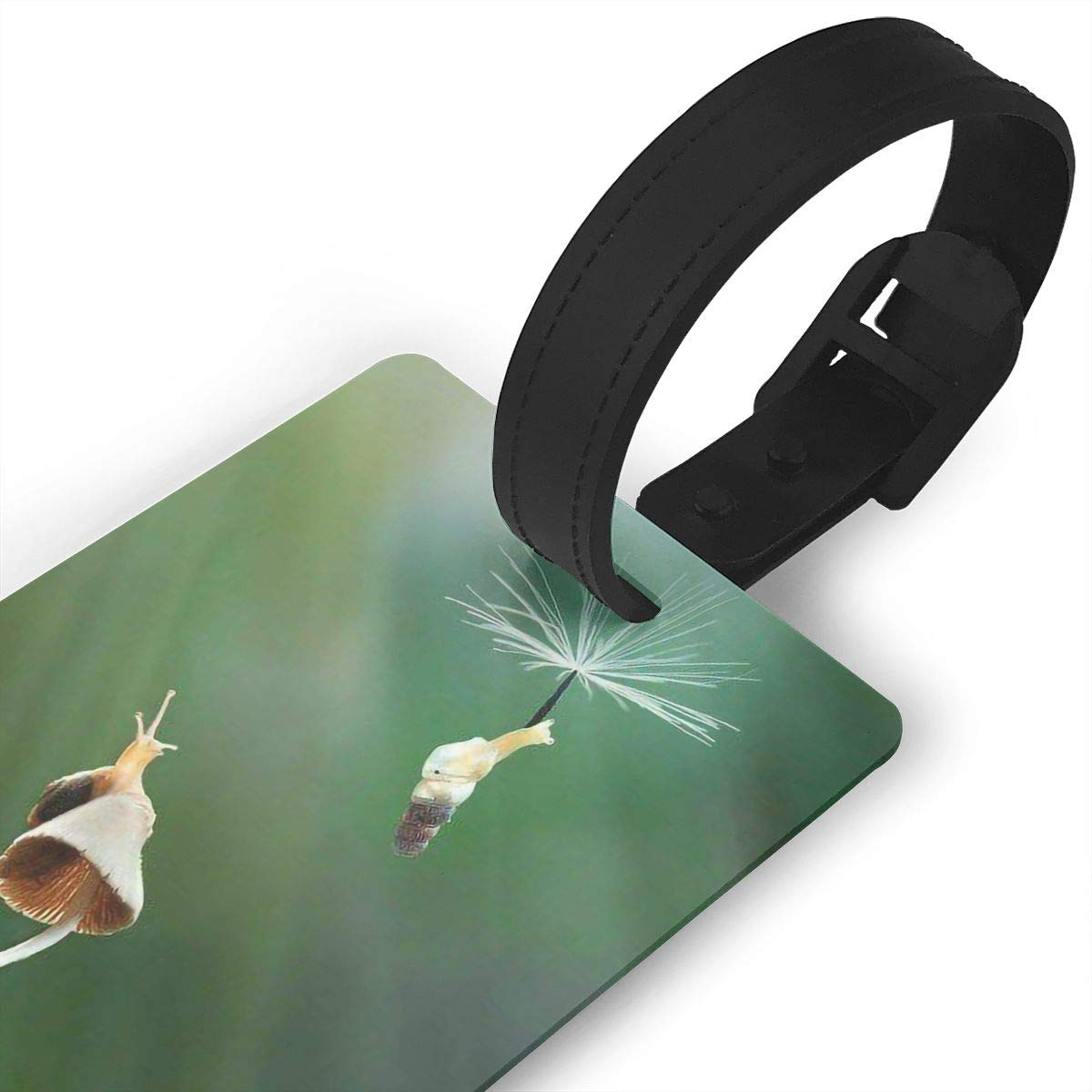 2 Pack Luggage Tags Snail Handbag Tag For Travel Bag Suitcase Accessories