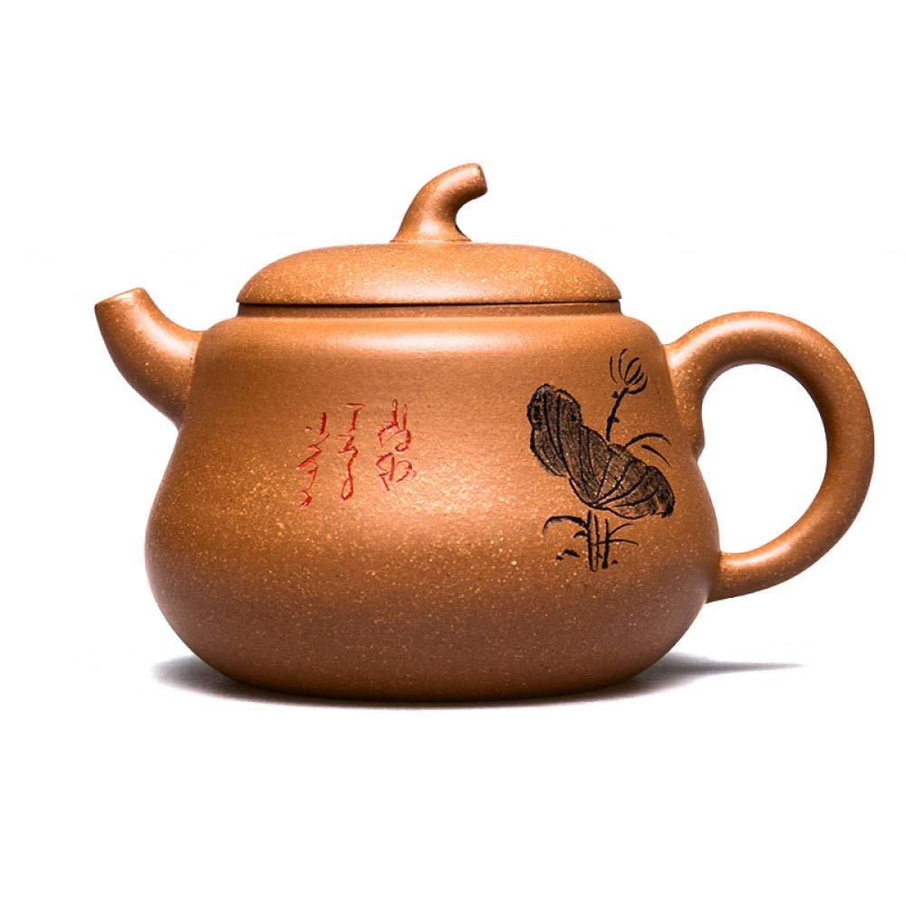 POTOLL Teiera Zisha pentola a Mano Pura Zucca pentola a Sabbia Viola Kung Fu teiera Set da tè Prezzi