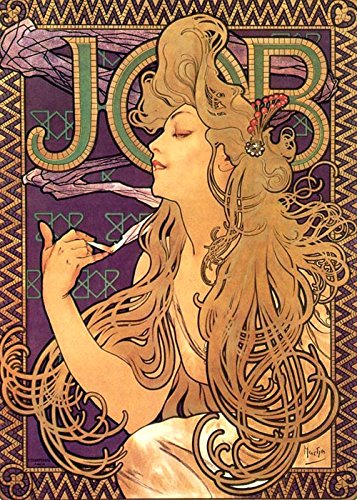 The Museum Outlet - Alphonse Mucha Job Cigarettes 1 - Poster (Medium)