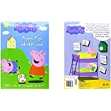 Alligator Books Peppa Pig - Peppa Pig's Sticker Pad With Lots of Reusable Stickers Playset