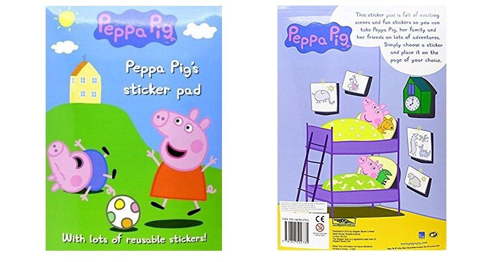 Alligator Books Peppa Pig Libro Activity Pintura Y Pegatinas Atosa ALLI1273PESAP