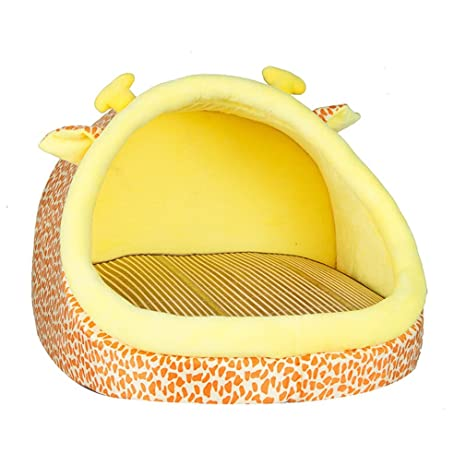 Pet Cat Nest Kennel Verano Cool Mat Nest extraíble Cat Saco de Dormir Summer Cat Litera