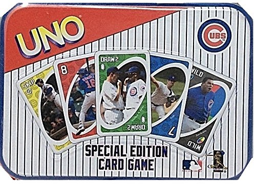 (Official MLB Chicago Cubs Edition UNO Card Game)