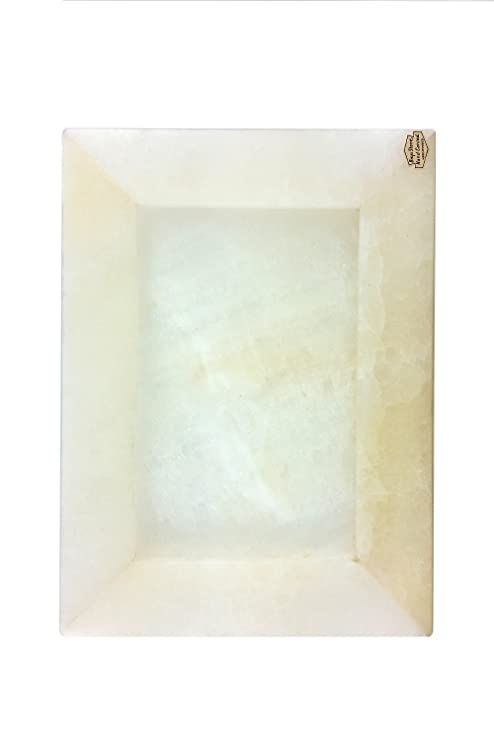 Tellez Portaretrato de Ónix Color Blanco en Forma de ...