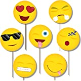 Emoji Photo Booth Props Kit - 20 Pack Party Camera Props