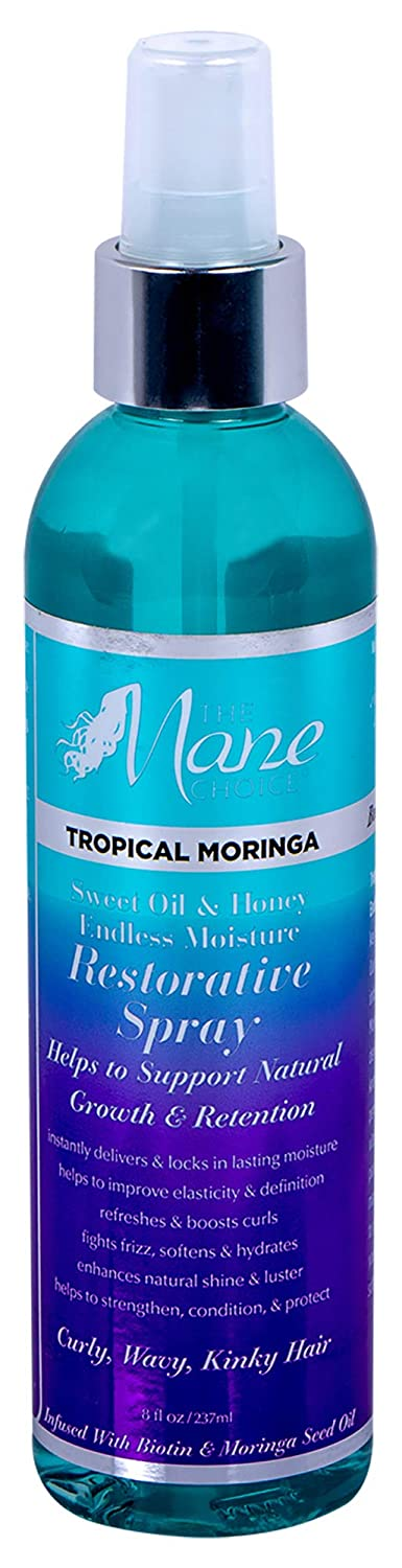 [THE MANE CHOICE] TROPICAL MORINGA DAILY RESTORATIVE SPRAY 8OZ