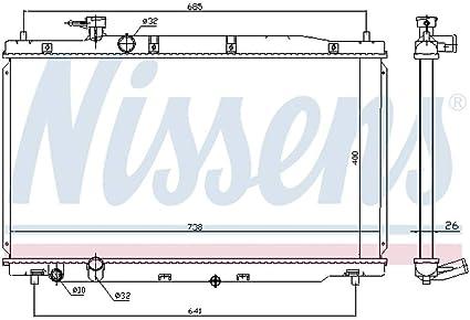 Nissens 681386/Radiator Cooling Motor