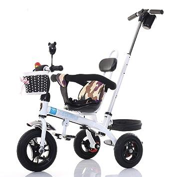 sheng El triciclo de los niños puede empujar el carro del bebé del ...