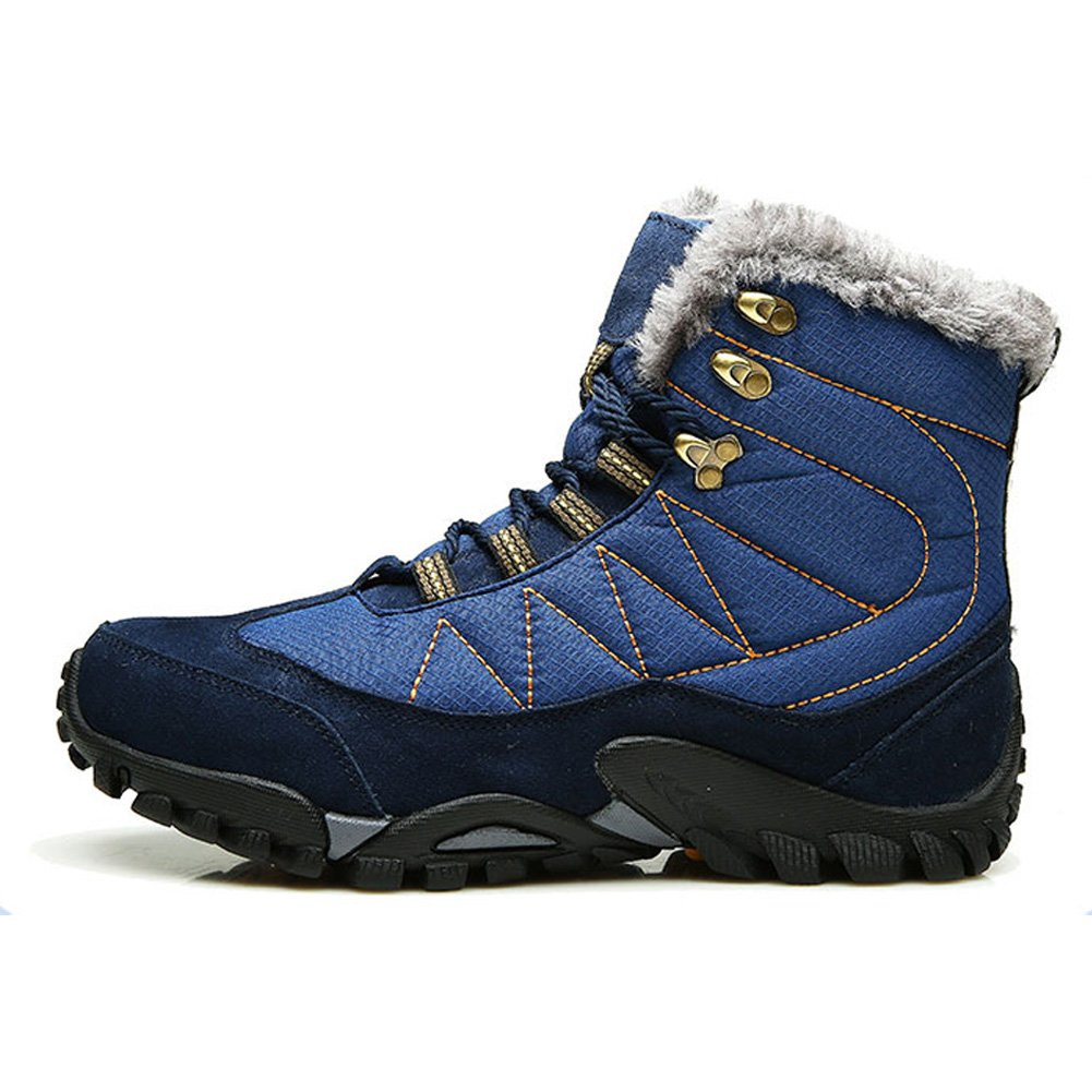 Army Boots Men Winter Shoes Warm Fur Shoes Lace Up Men Heated Boots Ankle  Fur Snow Boots Waterproof: Amazon.ca: Shoes & Handbags