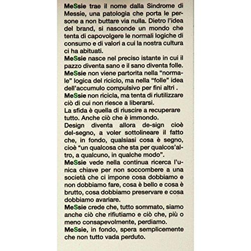 VialeScarpe Mes-philmgr_uni - Bolso cruzados para mujer Negro negro taglia unica negro