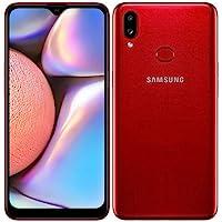 Samsung Galaxy A10s (32GB, 2GB RAM) Duos w/ 13MP Camera Dual SIM GSM Factory Unlocked A107M/DS - US + Global 4G LTE International Model (Red, 32 GB)